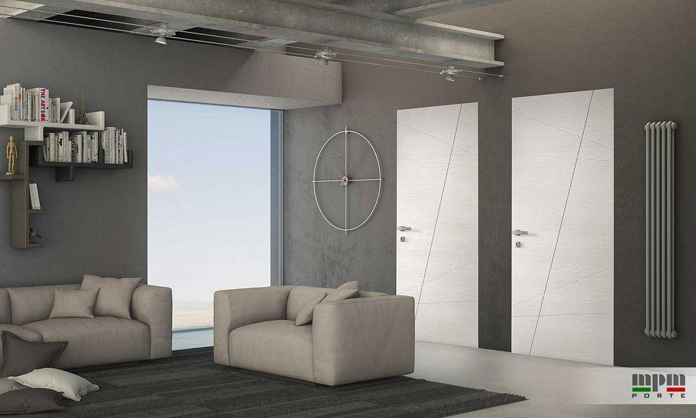 Porte in ambiente moderno