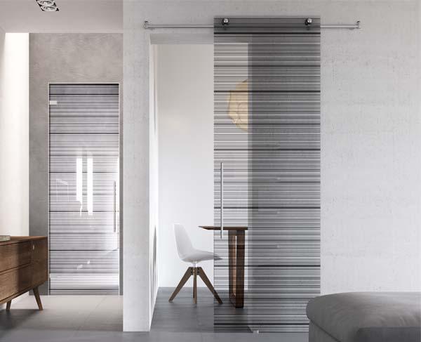 Porte moderne in vetro