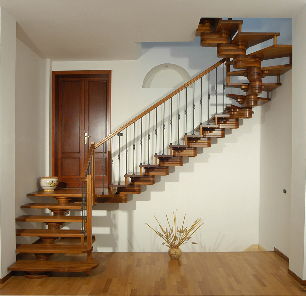 Eden: the staircase that optimizes  your spaces